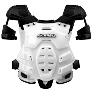 Acerbis Robot Chest Protector - White