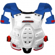 Acerbis Robot Chest Protector - Red Blue