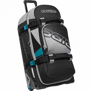 Ogio Rig 9800 LE Motocross Wheeled Gear Bag - Teal Block