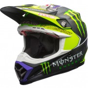 Bell Moto 9 Carbon Flex Helmet - Pro Circuit 17 Monster Replica