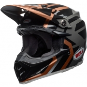 Bell Moto 9 MIPS Helmet - District Copper Black Charcoal