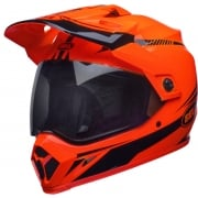 Bell MX9 MIPS Adventure Helmet - Torch Orange Black