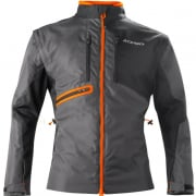 Acerbis Enduro One Jacket - Black Fluo Orange