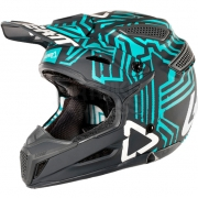 2018 Leatt GPX 5.5 V11 Helmet - Grey Teal