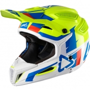 2018 Leatt GPX 5.5 V10 Helmet - Lime White
