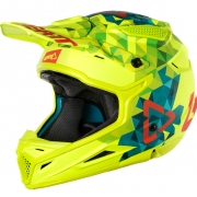2018 Leatt GPX 4.5 V22 Helmet - Lime Teal