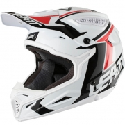 2018 Leatt GPX 4.5 V20 Helmet - White Black