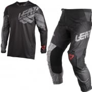 2018 Leatt GPX 4.5 Lite Motocross Kit Combo - Black Brushed