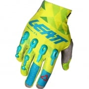 2018 Leatt GPX 4.5 Lite Gloves - Lime Teal