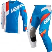 2018 Leatt Kids GPX 3.5 Motocross Kit Combo - Blue White