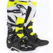 Alpinestars Tech 7 Enduro Boots - Black White Flo Yellow