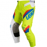 2018 Leatt Kids GPX 3.5 Motocross Pants - Lime White