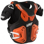 2018 Leatt Fusion 2.0 Kids Body Armour & Neck Brace - Orange