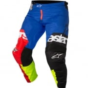 2018 Alpinestars Racer Pants - Flagship Red Flo Yellow Blue
