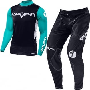 2018.1 Seven MX Zero Kit Combo - Staple Black Aqua