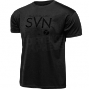 Seven Boarding Pass T Shirt - Black Wax
