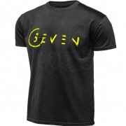 Seven Fragment T Shirt - Black Flo Yellow