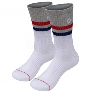 Seven Realm MX Socks - Grey Red
