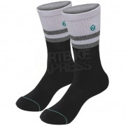 Seven Realm MX Socks - White Black