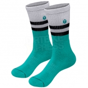 Seven Realm MX Socks - White Aqua
