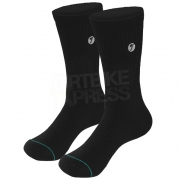 Seven Brand Crew MX Socks - Black