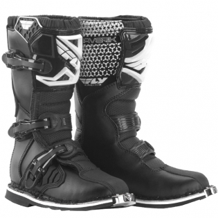 2018 Fly Racing Maverik Kids Boots - Black
