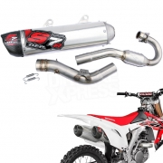 DEP S7R Carbon Exhaust System - Honda CRF 450 2015-2016