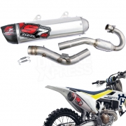 DEP S7R Carbon Exhaust System - Husqvarna FC 250 2016-Current