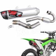 DEP S7R Carbon Exhaust System - Kawasaki KXF 450 2009-Current