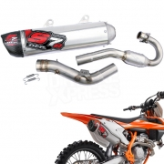 DEP S7R Carbon Exhaust System - KTM SXF 350 2016-Current