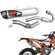 DEP S7R Carbon Exhaust System - KTM EXCF 250 2016-Current