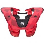 2018 Atlas Prodigy Kids Neck Brace - Fire Prism