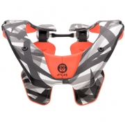 2018 Atlas Prodigy Kids Neck Brace - Orange Laser