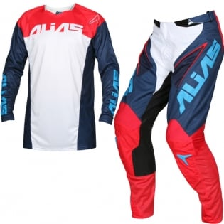 2018 Alias A1 Kit Combo - Classic Navy Red