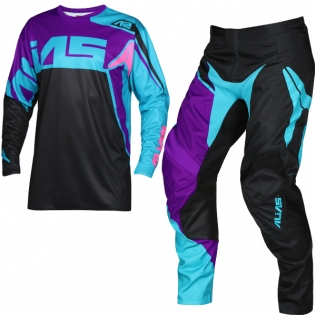 2018 Alias A2 Kit Combo - Burst Black Aqua
