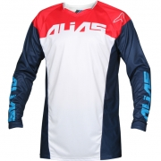 2018 Alias A1 Jersey - Classic Navy Red