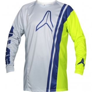 2018 Alias A1 Jersey - Offset Grey Chartreuse