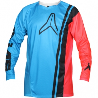 2018 Alias A1 Jersey - Offset Red Cyan