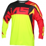 2018 Alias A2 Jersey - Burst Neon Yellow Red