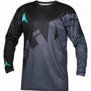 2018 Alias A2 Jersey - Trifecta Charcoal Black