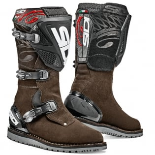 Sidi Zero.1 Trials Boots - Brown