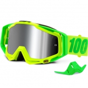 100% Racecraft Plus Goggles - Sour Soul Mirror Silver Lens