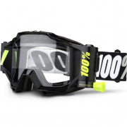 100% Accuri Forecast Mud Goggles - Tornado Clear Lens