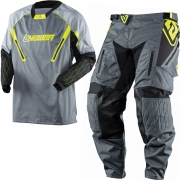 2018 Answer Taiga XC Enduro Kit Combo - Grey Hi Viz