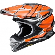 2018 Shoei VFX-WR Helmet - Glaive Orange TC8