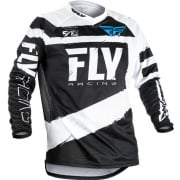 2018 Fly Racing F16 Jersey - Black White
