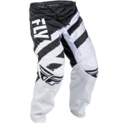 2018 Fly Racing F16 Pants - Black White
