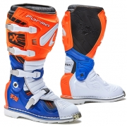 Forma Terrain TX 2.0 Motocross Boots - Orange White Blue