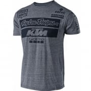Troy Lee Designs 2018 Team KTM T Shirt - Grey