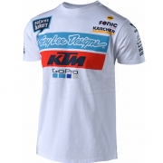 Troy Lee Designs 2018 Team KTM T Shirt - White